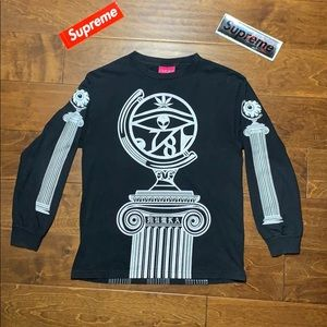 Cryptic MishkaNYC or MNWKA double sided graphic
